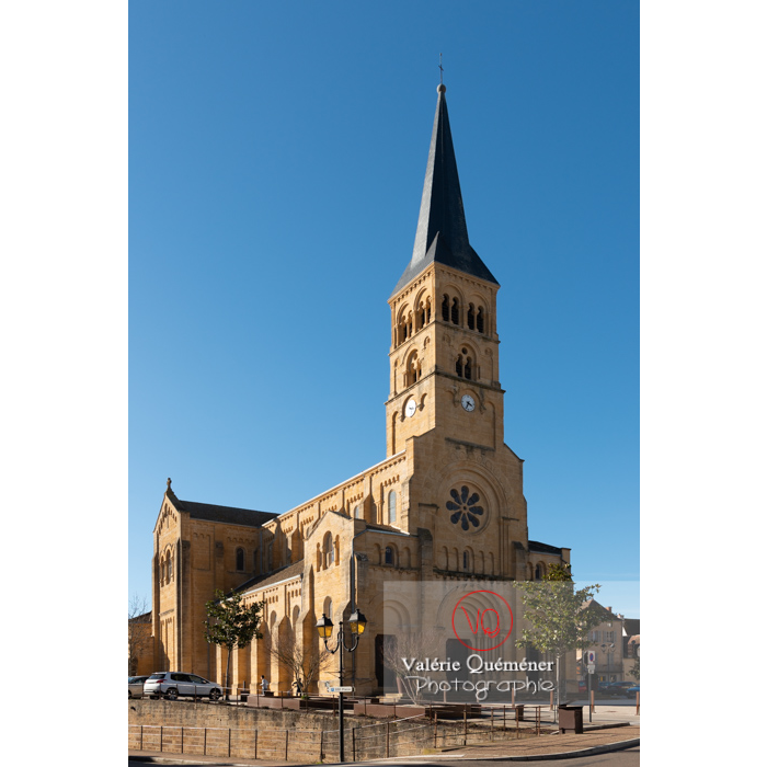 Église du Sacré-Coeur de Charolles / Bourgogne - Réf : VQFR71-0258 (Q3)
