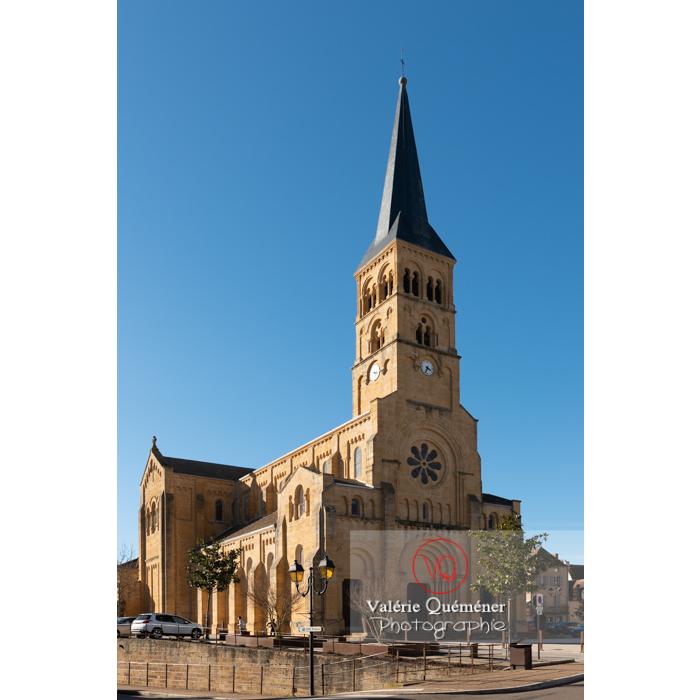 Église du Sacré-Coeur de Charolles / Saône-et-Loire / Bourgogne-Franche-Comté - Réf : VQFR71-0258 (Q3)