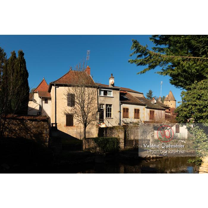 Maisons du centre ville de Charolles / Saône-et-Loire / Bourgogne-Franche-Comté - Réf : VQFR71-0262 (Q3)