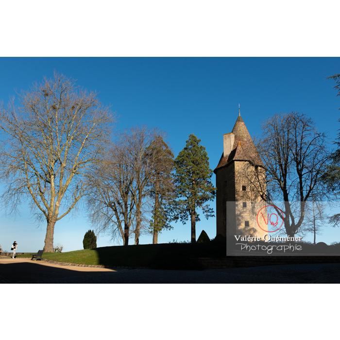 Tour Charles le Téméraire à Charolles / Saône-et-Loire / Bourgogne-Franche-Comté - Réf : VQFR71-0270 (Q3)