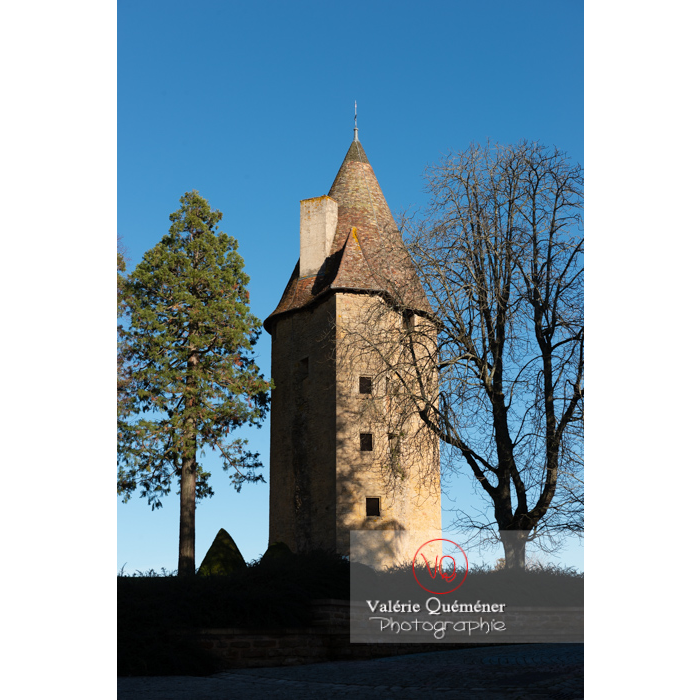 Tour Charles le Téméraire à Charolles / Saône-et-Loire / Bourgogne-Franche-Comté - Réf : VQFR71-0271 (Q3)