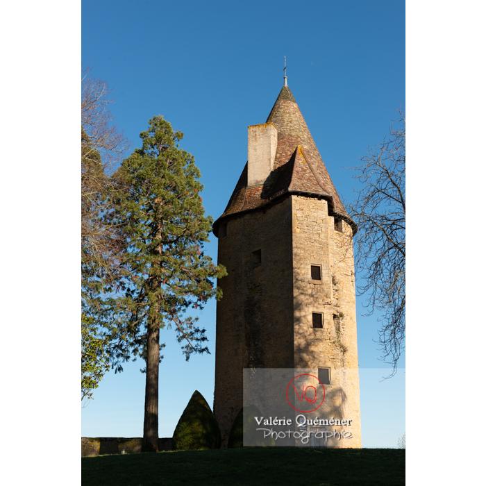 Tour Charles le Téméraire à Charolles / Saône-et-Loire / Bourgogne-Franche-Comté - Réf : VQFR71-0272 (Q3)