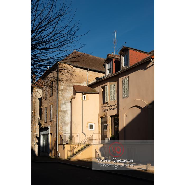 Centre ville de Charolles / Saône-et-Loire / Bourgogne-Franche-Comté - Réf : VQFR71-0274 (Q3)