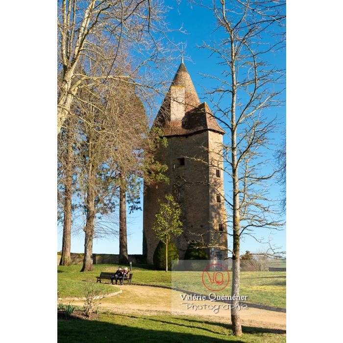 Tour Charles le Téméraire à Charolles / Saône-et-Loire / Bourgogne-Franche-Comté - Réf : VQFR71-0275 (Q3)