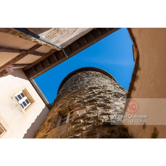 Tour des diamants du château de Charles le Téméraire, Charolles / Bourgogne - Réf : VQFR71-0277 (Q3)