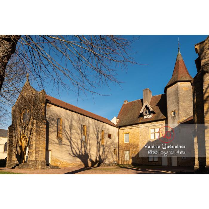 Ancien Prieuré clunisien Sainte-Marie-Madeleine, Charolles / Saône-et-Loire / Bourgogne-Franche-Comté - Réf : VQFR71-0290 (Q3)
