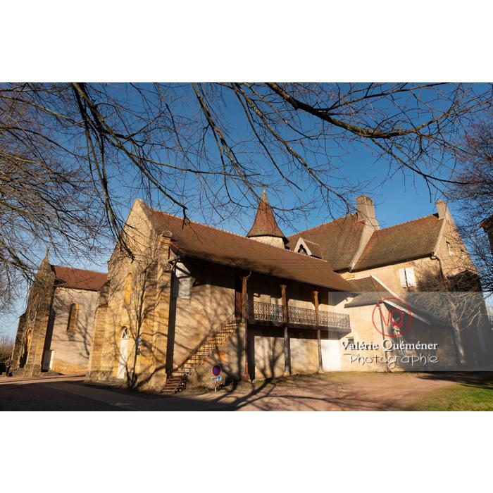 Ancien Prieuré clunisien Sainte-Marie-Madeleine, Charolles / Bourgogne - Réf : VQFR71-0286 (Q3)