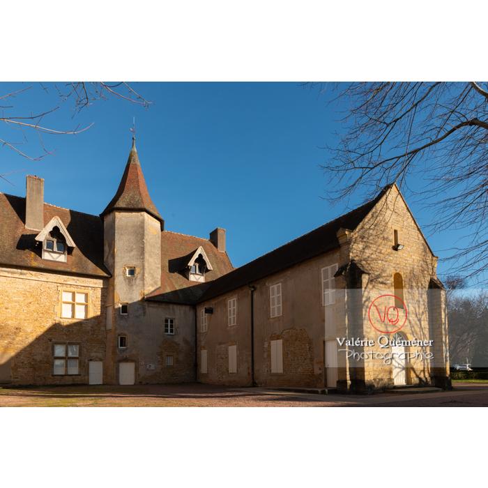 Ancien Prieuré clunisien Sainte-Marie-Madeleine, Charolles / Bourgogne - Réf : VQFR71-0287 (Q3)