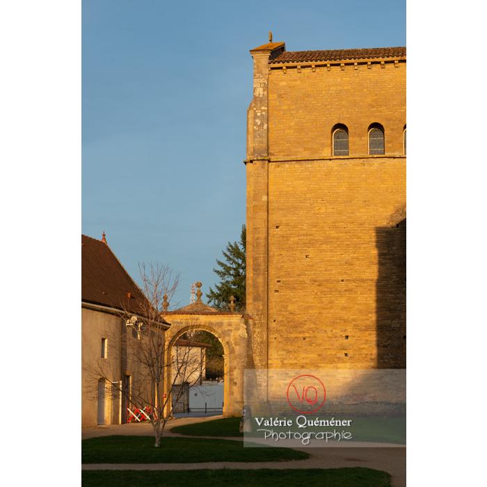 Détail de la Basilique du Sacré-Cœur (MH), à Paray-le-Monial / Saône-et-Loire / Bourgogne-Franche-Comté - Réf : VQFR71-0309 (Q3)