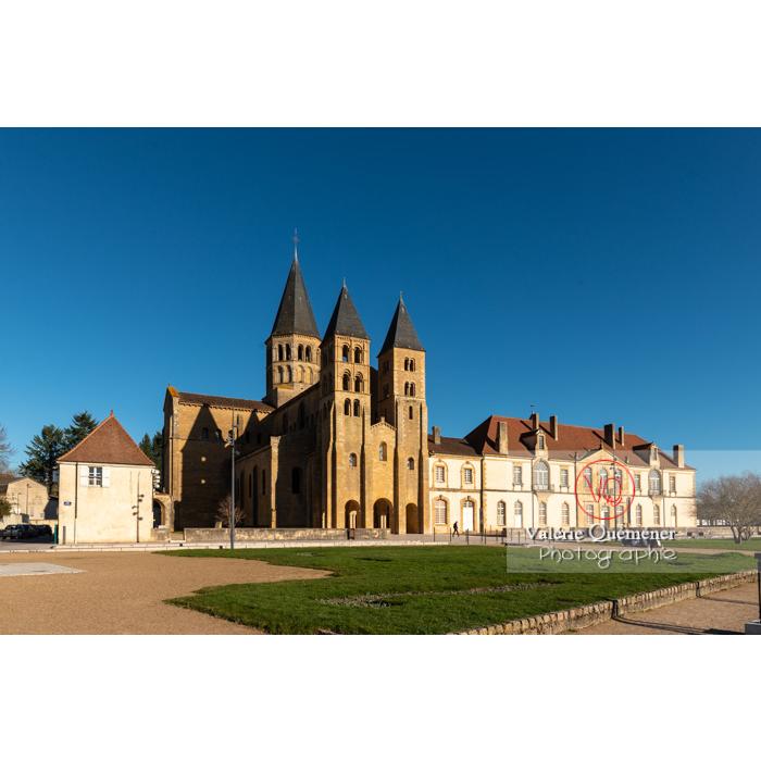 Ensemble basilique du Sacré-Cœur (MH) et prieuré Notre-Dame (MH), à Paray-le-Monial / Saône-et-Loire / Bourgogne-Franche-Comté - Réf : VQFR71-0385 (Q3)
