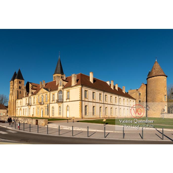 Ensemble prieuré Notre-Dame (MH) et basilique du Sacré-Cœur (MH), à Paray-le-Monial / Saône-et-Loire / Bourgogne-Franche-Comté - Réf : VQFR71-0386 (Q3)