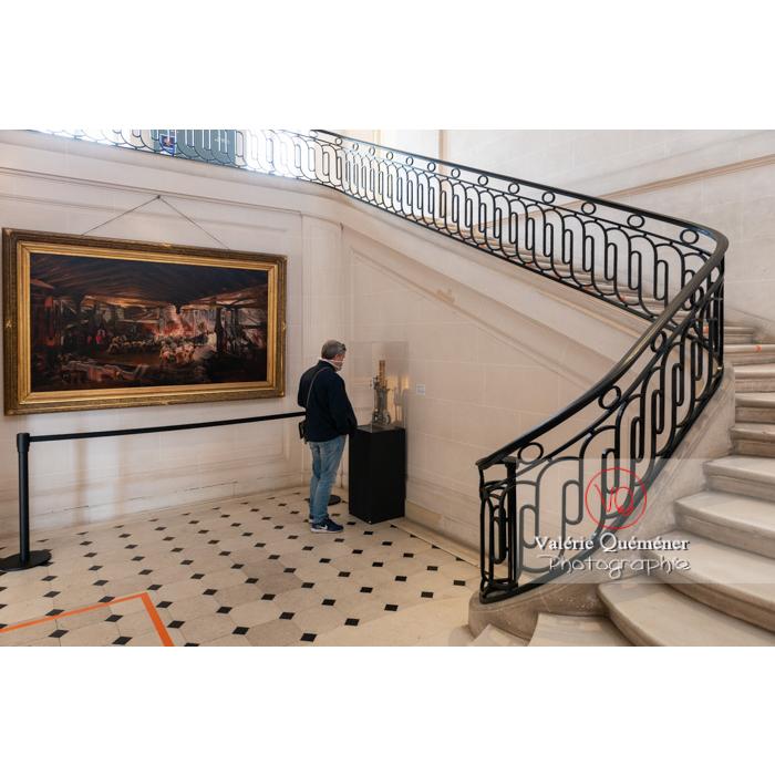 Musée du château de la verrerie dans la ville Le Creusot / Saône-et-Loire / Bourgogne - Réf :  VQFR71-0928 (Q3)