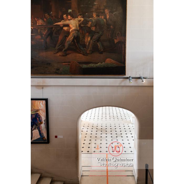 Musée du château de la verrerie dans la ville Le Creusot / Saône-et-Loire / Bourgogne - Réf :  VQFR71-0932 (Q3)