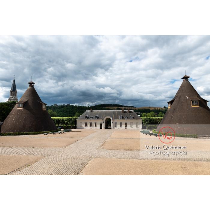 Fours du château de la verrerie dans la ville Le Creusot / Saône-et-Loire / Bourgogne - Réf : VQFR71-0934 (Q3)