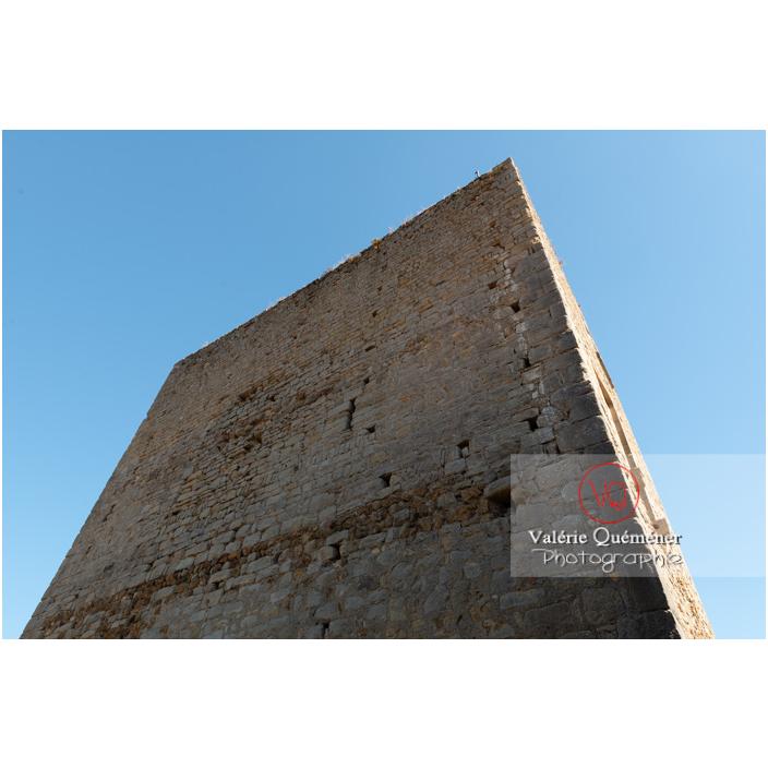 Grande tour du château Saint-Hugues à Semur-en-Brionnais / Saône-et-Loire / Bourgogne-Franche-Comté - Réf : VQFR71-2679 (Q3)