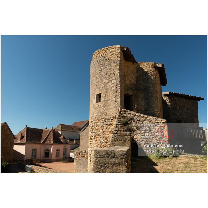 Château Saint-Hugues à Semur-en-Brionnais / Saône-et-Loire / Bourgogne-Franche-Comté - Réf : VQFR71-2680 (Q3)