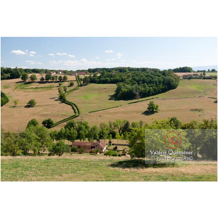 Campagne à Semur-en-Brionnais / Saône-et-Loire / Bourgogne-Franche-Comté - Réf : VQFR71-2685 (Q3)