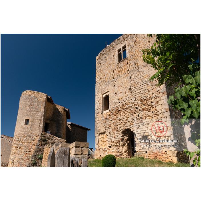 Château Saint-Hugues à Semur-en-Brionnais / Saône-et-Loire / Bourgogne-Franche-Comté - Réf : VQFR71-2687 (Q3)