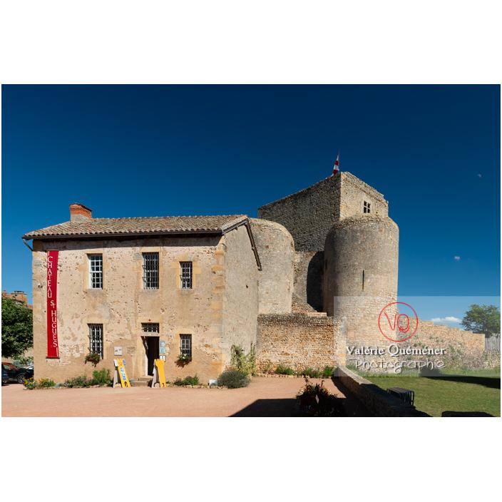 Château-Saint-Hugues à Semur-en-Brionnais / Saône-et-Loire / Bourgogne-Franche-Comté - Réf : VQFR71-2692 (Q3)