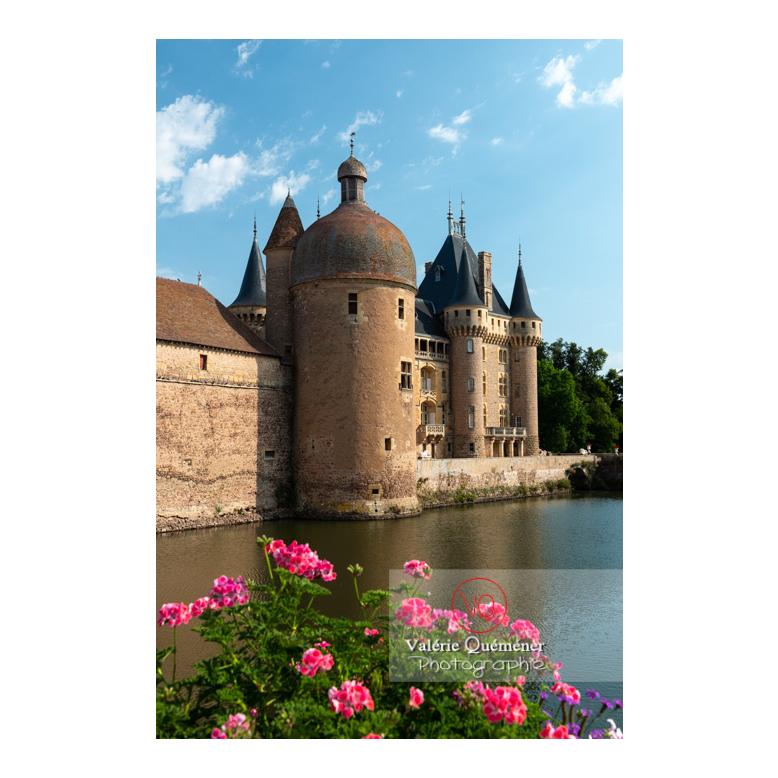 Douves au pied du château de La Clayette (MH) / La Clayette / Saône-et-Loire / Bourgogne-Franche-Comté - Réf : VQFR71-2708 (Q3)