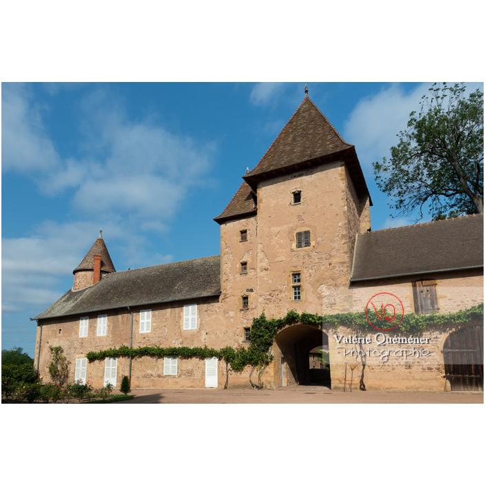 Dépendance du château de La Clayette (MH) / La Clayette / Saône-et-Loire / Bourgogne-Franche-Comté - Réf : VQFR71-2716 (Q3)