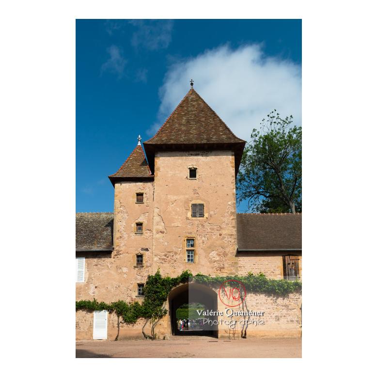 Tour carrée du château de La Clayette (MH) / La Clayette / Saône-et-Loire / Bourgogne-Franche-Comté - Réf : VQFR71-2718 (Q3)