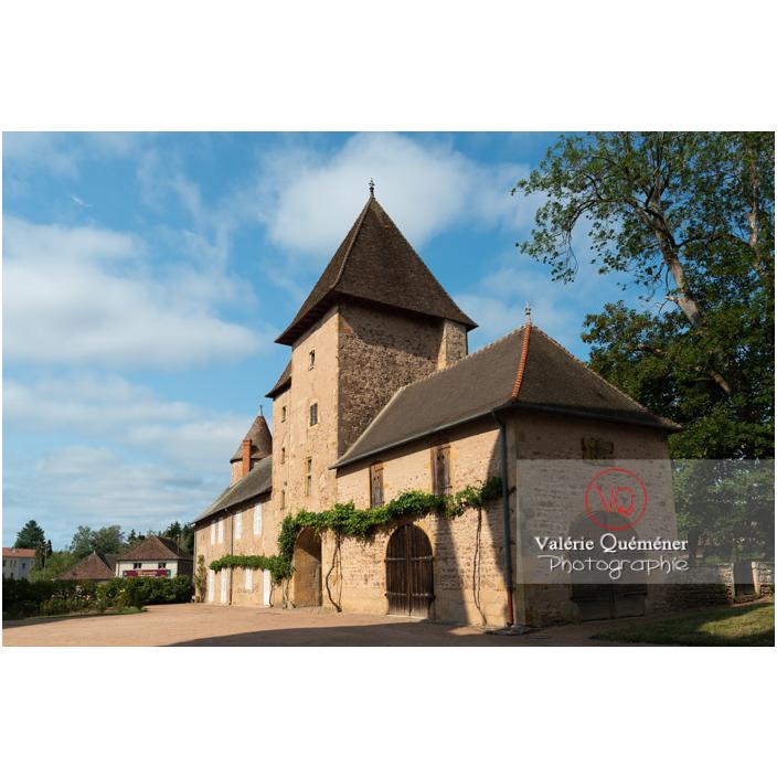 Dépendance du château de La Clayette (MH) / La Clayette / Saône-et-Loire / Bourgogne-Franche-Comté - Réf : VQFR71-2722 (Q3)