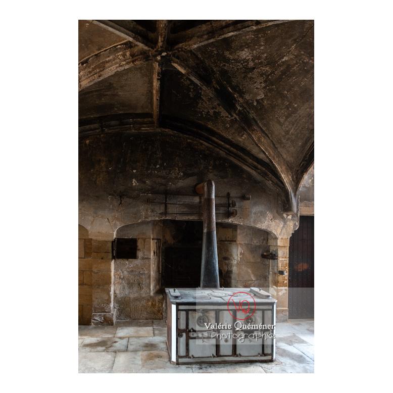 Cuisine médiévale du château de La Clayette (MH) / La Clayette / Saône-et-Loire / Bourgogne-Franche-Comté - Réf : VQFR71-2726 (Q3)