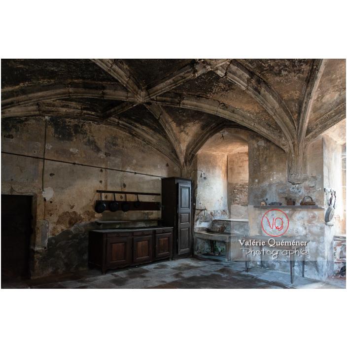 Cuisine médiévale du château de La Clayette (MH) / La Clayette / Saône-et-Loire / Bourgogne-Franche-Comté - Réf : VQFR71-2729 (Q3)