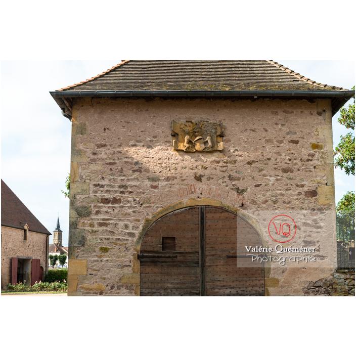 Dépendance du château de La Clayette (MH) / La Clayette / Saône-et-Loire / Bourgogne-Franche-Comté - Réf : VQFR71-2732 (Q3)