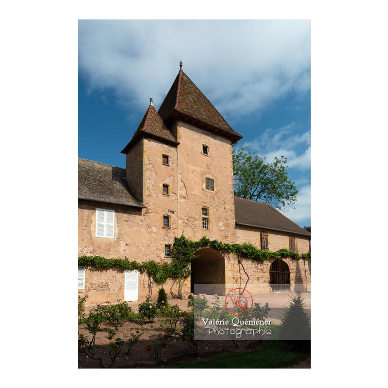 Tour carrée du château de La Clayette (MH) / La Clayette / Saône-et-Loire / Bourgogne-Franche-Comté - Réf : VQFR71-2733 (Q3)