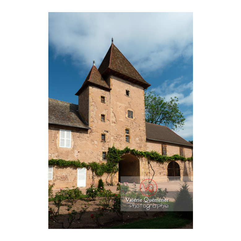 Tour carrée des dépendances du château de La Clayette (MH) / La Clayette / Saône-et-Loire / Bourgogne-Franche-Comté - Réf : VQFR71-2733 (Q3)