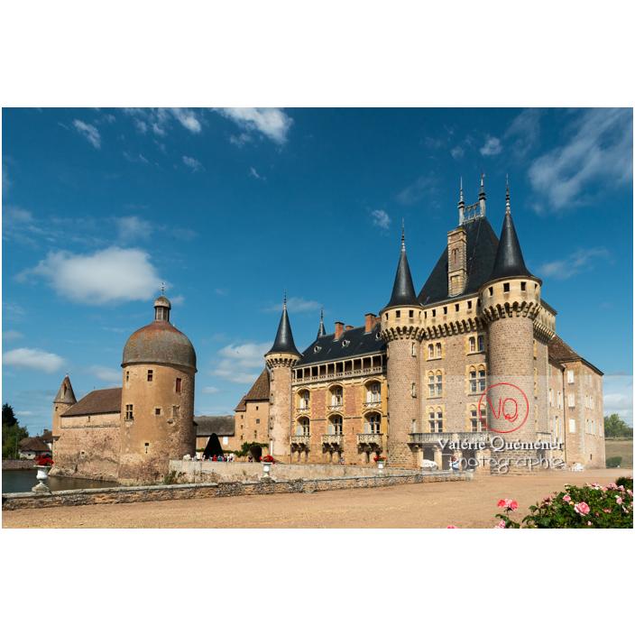 Château de La Clayette (MH) / La Clayette / Saône-et-Loire / Bourgogne-Franche-Comté - Réf : VQFR71-2750 (Q3)
