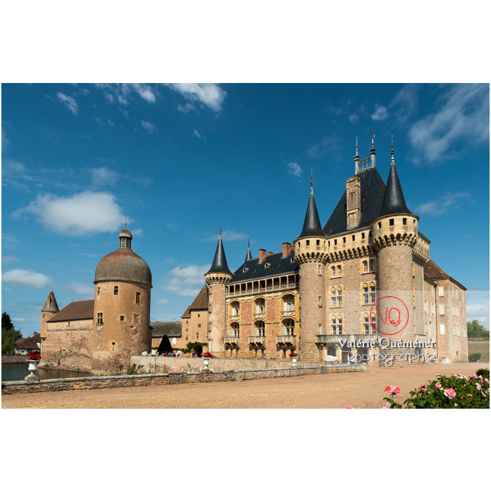 Château de La Clayette (MH) sur la commune de La Clayette / Saône-et-Loire / Bourgogne-Franche-Comté - Réf : VQFR71-2750 (Q3)