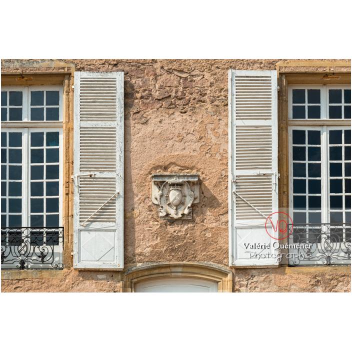Façade du château de La Clayette (MH) / La Clayette / Saône-et-Loire / Bourgogne-Franche-Comté - Réf : VQFR71-2763 (Q3)