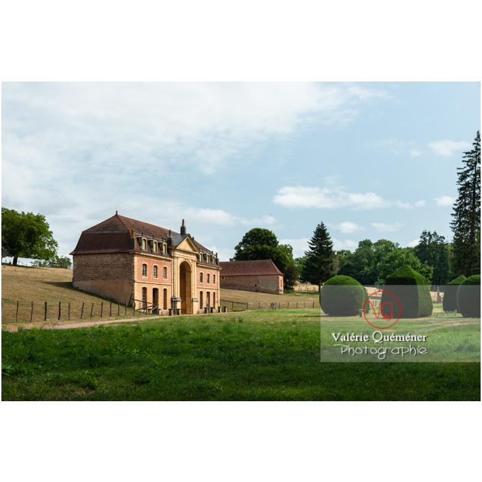 Parc et orangerie du château de La Clayette (MH) / La Clayette / Saône-et-Loire / Bourgogne-Franche-Comté - Réf : VQFR71-2768 (Q3)