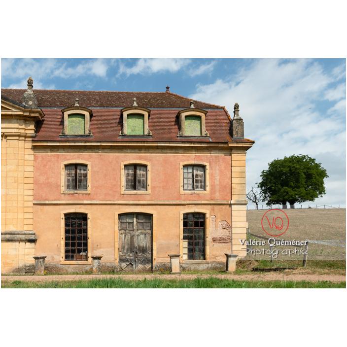 Aile de l'orangerie du château de La Clayette (MH) / La Clayette / Saône-et-Loire / Bourgogne-Franche-Comté - Réf : VQFR71-2771 (Q3)