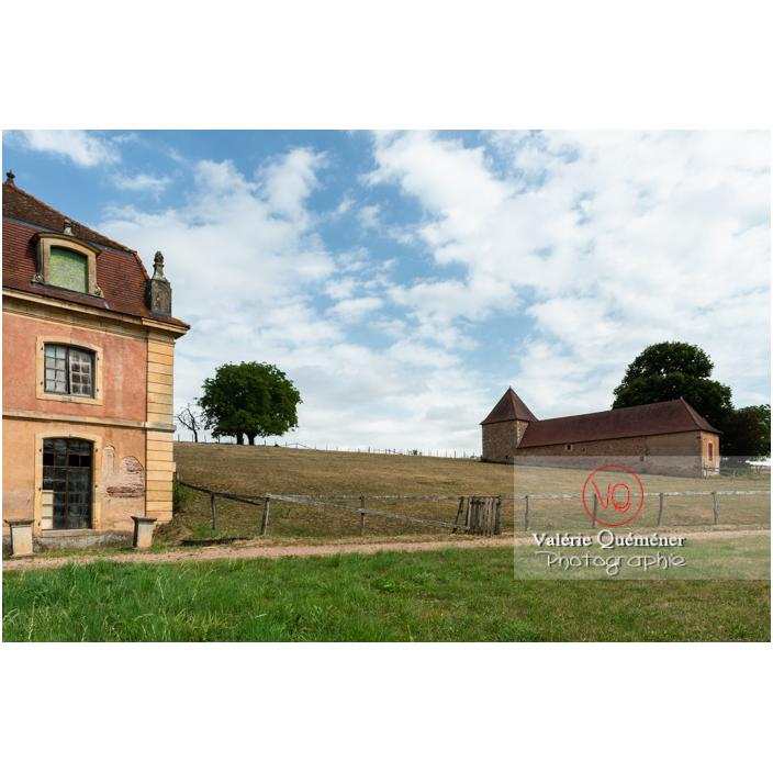 Parc et orangerie au château de La Clayette (MH) / La Clayette / Saône-et-Loire / Bourgogne-Franche-Comté - Réf : VQFR71-2772 (Q3)