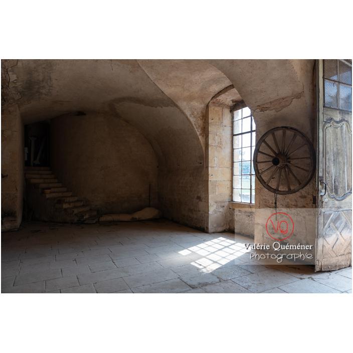 Intérieur de l'orangerie du château de La Clayette (MH) / La Clayette / Saône-et-Loire / Bourgogne-Franche-Comté - Réf : VQFR71-2778 (Q3)