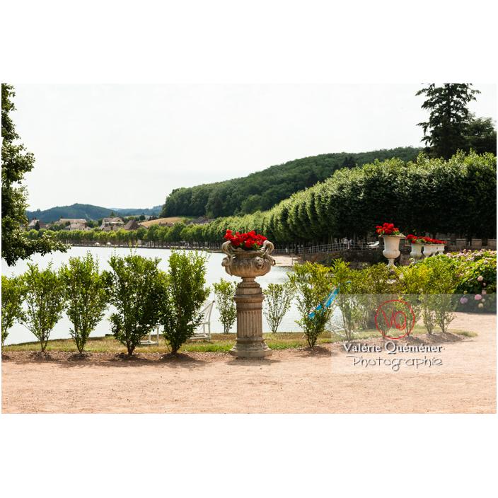 Jardin du château de La Clayette (MH) / La Clayette / Saône-et-Loire / Bourgogne-Franche-Comté - Réf : VQFR71-2782 (Q3)