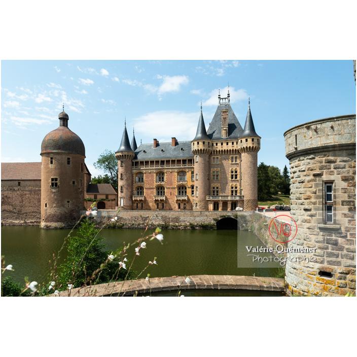 Château de La Clayette (MH) sur la commune de La Clayette / Saône-et-Loire / Bourgogne-Franche-Comté - Réf : VQFR71-2791 (Q3)