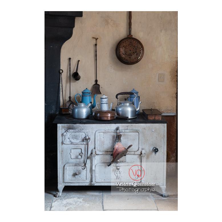 Elément de cuisine au château de Drée (MH) à Curbigny / Saône-et-Loire / Bourgogne-Franche-Comté - Réf : VQFR71-2807 (Q3)