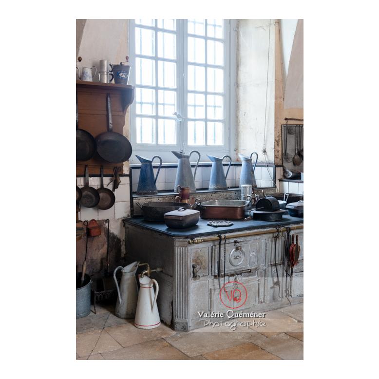 Elément de cuisine au château de Drée (MH) à Curbigny / Saône-et-Loire / Bourgogne-Franche-Comté - Réf : VQFR71-2808 (Q3)