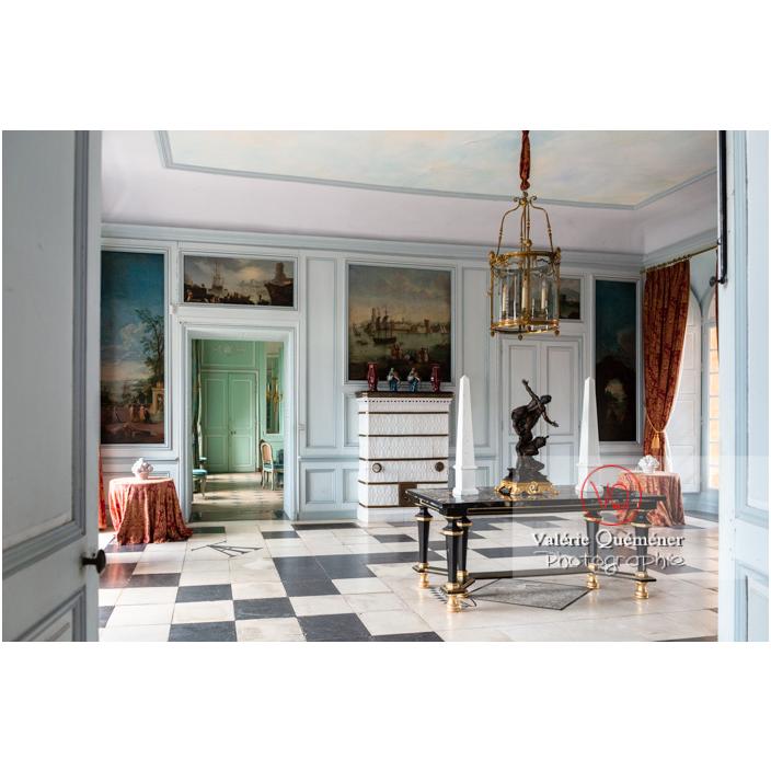 Hall d'accueil au château de Drée (MH) à Curbigny / Saône-et-Loire / Bourgogne-Franche-Comté - Réf : VQFR71-2826 (Q3)