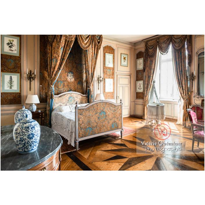 Chambre du château de Drée (MH) à Curbigny / Saône-et-Loire / Bourgogne-Franche-Comté - Réf : VQFR71-2839 (Q3)