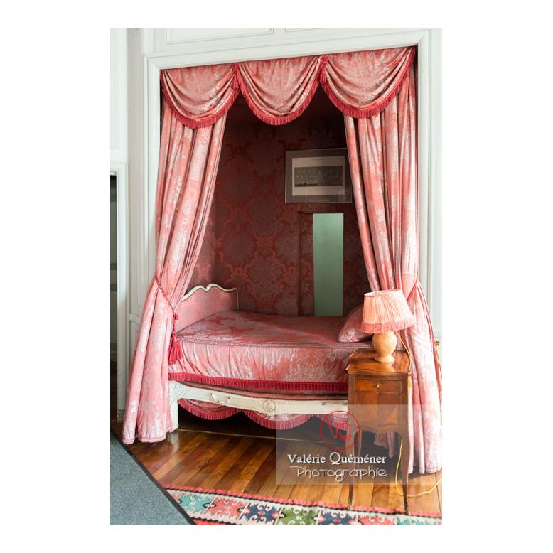 Chambre du château de Drée (MH) à Curbigny / Saône-et-Loire / Bourgogne-Franche-Comté - Réf : VQFR71-2844 (Q3)