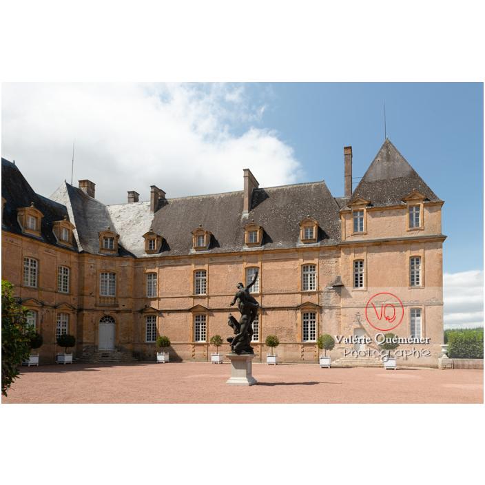 Aile droite du château de Drée (MH) à Curbigny / Saône-et-Loire / Bourgogne-Franche-Comté - Réf : VQFR71-2862 (Q3)
