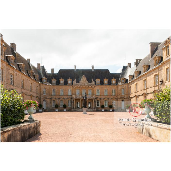 Château de Drée (MH) en forme de U à Curbigny / Saône-et-Loire / Bourgogne-Franche-Comté - Réf : VQFR71-2863 (Q3)
