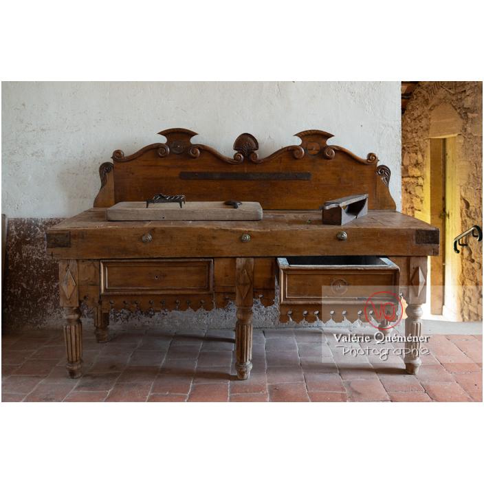 Etabli de boucher au château de Drée (MH) à Curbigny / Saône-et-Loire / Bourgogne-Franche-Comté - Réf : VQFR71-2902 (Q3)
