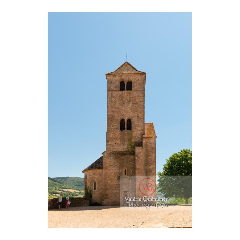 Restes de l'église du château de Pierreclos / Saône-et-Loire / Bourgogne-Franche-Comté - Réf : VQFR71-3173 (Q3)